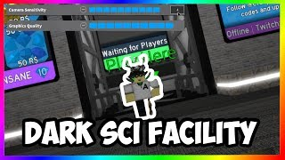 (Funny) DARK-SCI FACILITY MAX SENSITIVITY! | Roblox FE2 Kartentest
