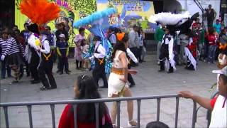 Carnaval Papalotla Tlaxcala 2015 presentacion segunda parte
