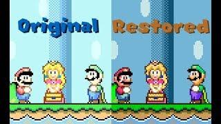 Super Mario World - Super Mario Advance 2 Color Restoration