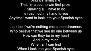 SPANISH EYES BY BACKSTREET BOYS KARAOKE VIDEO