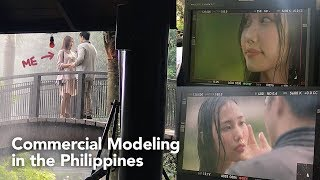 I WAS IN A KDRAMA?! Commercial Modeling in the Philippines