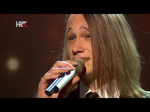 "Marin: ""Take Me To Church"" - The Voice of Croatia - Season1 - Live5"