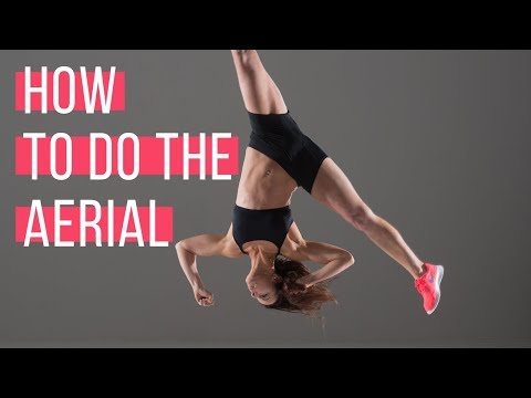 How to do the Aerial | No handed Kartwheel tutorial with Chloe Bruce thumbnail