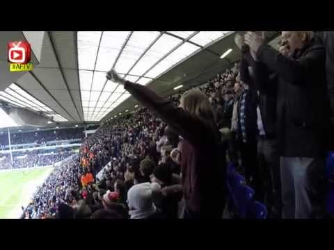 Arsenal fans singing at White Hart Lane incl. the funny