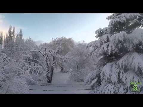 Record snow dump - Thorpe Farm - Bothwell - Tasmania