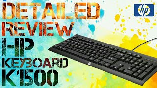 HP Keyboard K1500 Review & Unboxing