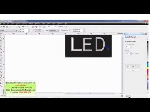 Học Làm Biển Led Dễ Nhất- Bài 4: Cách Đi LED Nhiều Đường Trong 1 Chữ Của Biển Quảng Cáo LED Vẫy