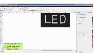 Bài 4 - Hướng Dẫn Đi LED Nhiều Đường Trong 1 Chữ Của Biển Quảng Cáo LED Vẫy