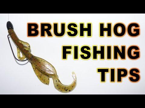 Zoom Baby Brush Hog Bass Fishing Tips
