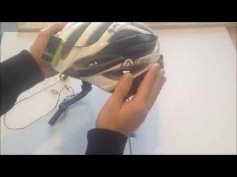 Turn your favorite bike helmet into a bone conduction headset