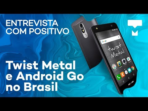 Positivo fala sobre Android Go no Brasil e apresenta o Twist Metal - TecMundo