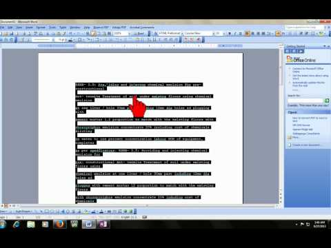 How to convert image or scan file to word or text
