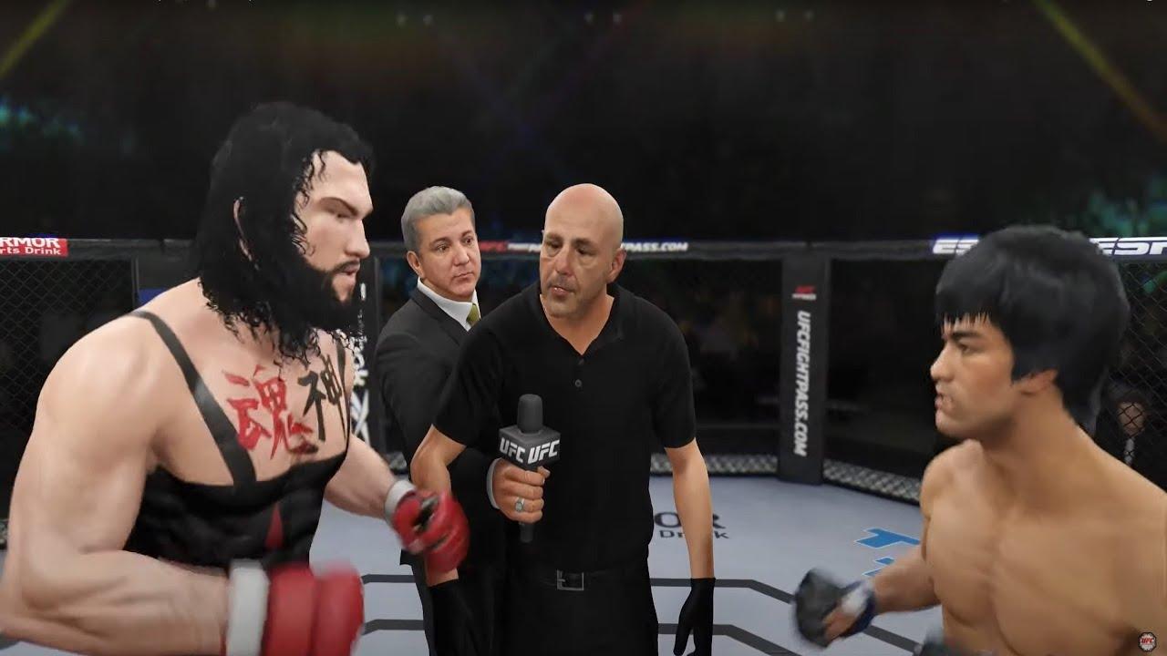 Bruce Lee vs. Thai Butcher (EA sports UFC 4)