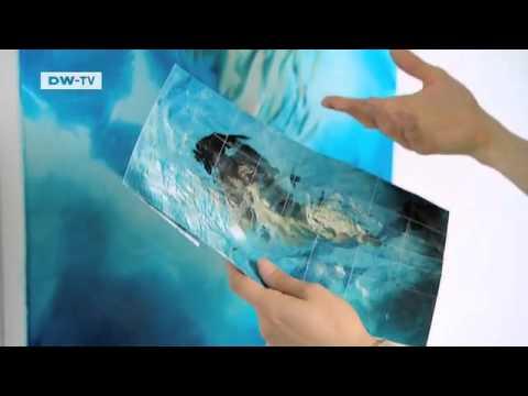 Swimming Pool Paintings by Sarah Harvey | euromaxx