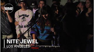 Nite Jewel Boiler Room Los Angeles LIVE Show