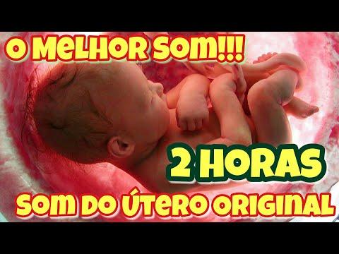 2 horas Som do utero - Original - Acalma bebé