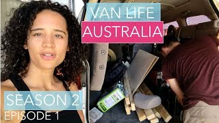 Bought a Van Home in Australia I Downsizing From a Sprinter  | Delica Van Life Australia