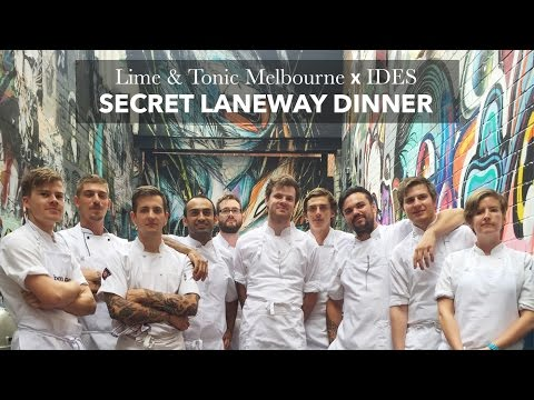 Melbourne Secret Laneway Dinner - Travel and Style blog The Love Assembly