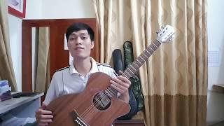 Đàn Guitar Full gỗ Mahogany (Hồng Đào Bắc Phi) - Đàn Guitar Chung Thủy 2 mã BP1F