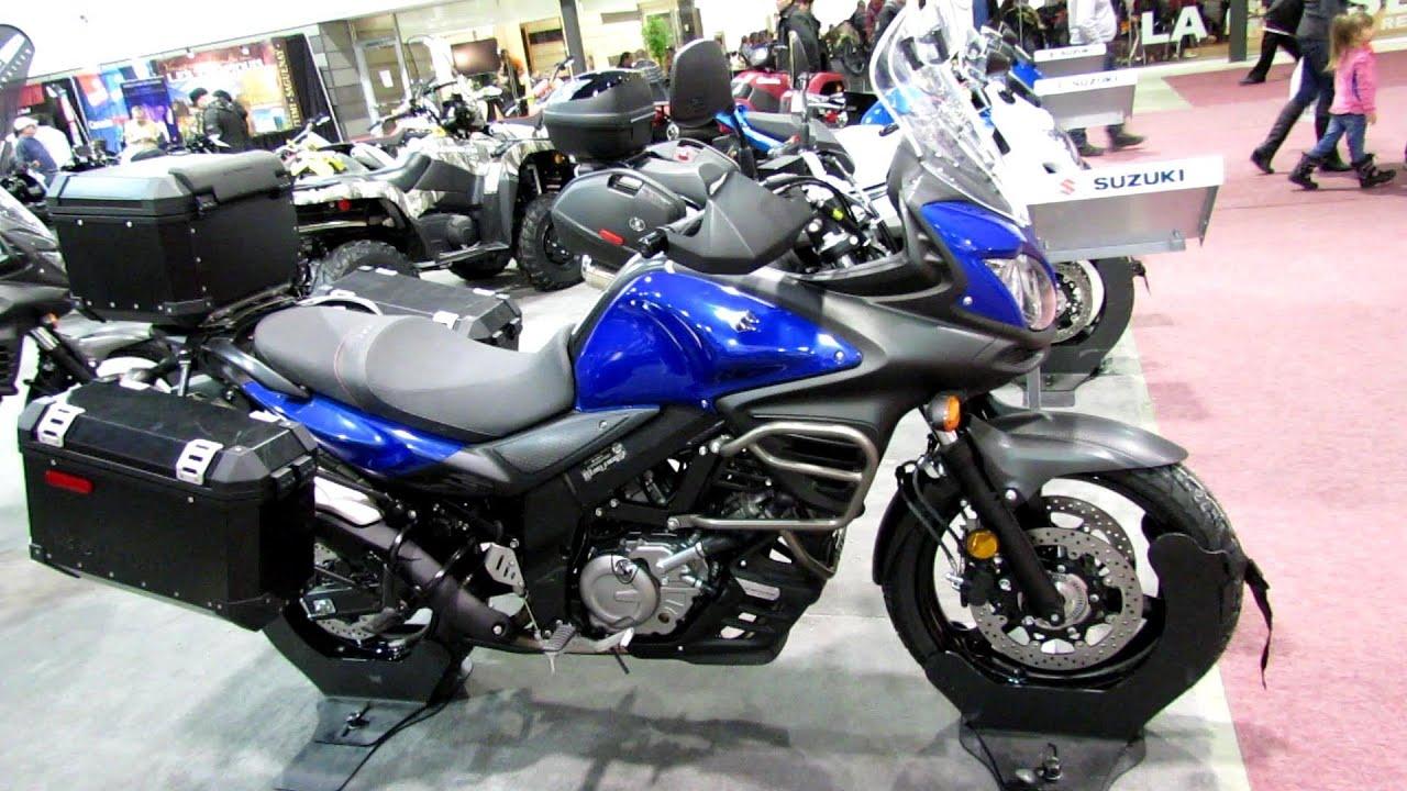 Suzuki v Strom 650 abs #11