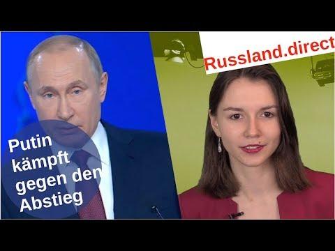 Putins Kampf gegen den Abstieg