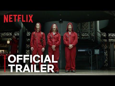 Money Heist - Part 2 | Official Trailer | Netflix