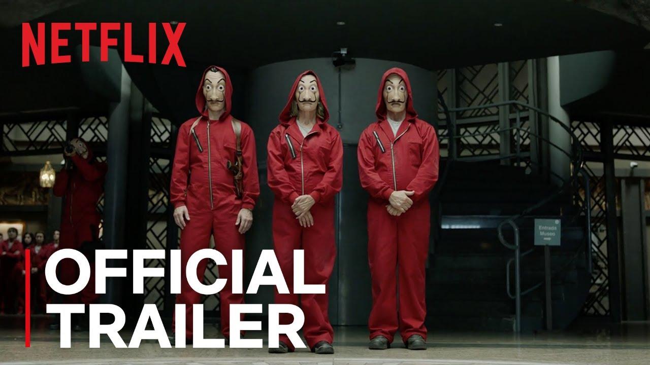Money Heist Part 2 Official Trailer Netflix Youtube
