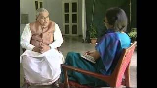 Atal Bihari Vajpayee  Interview by Tavleen Singh  Part -2