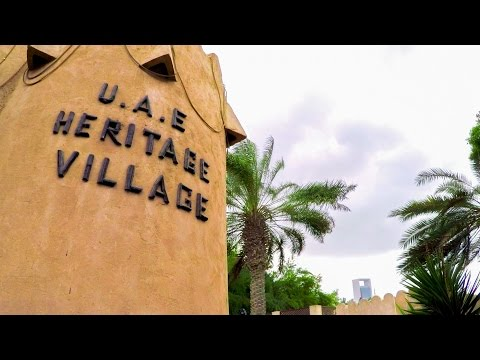 Abu Dhabi - Visit the Heritage Village