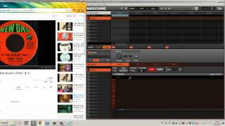 How to sample youtube & mp3 using Maschine on Windows