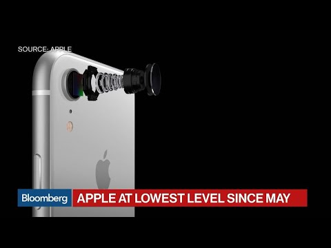 Apple Stock Enters Bear Market on iPhone Concerns