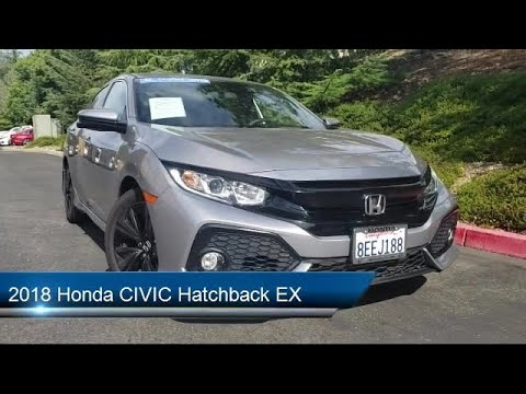 2018 Honda CIVIC Hatchback EX Auburn Grass Valley Rocklin Roseville Sacramento