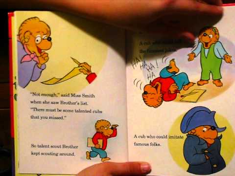 THE BERENSTAIN BEARS AND THE TALENT SHOW (Stan & Jan Berenstain)