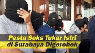 Pesta Seks Tukar Pasangan Digerebek di Surabaya Ibu Hamil 8 Bulan Turut Ditangkap Polisi