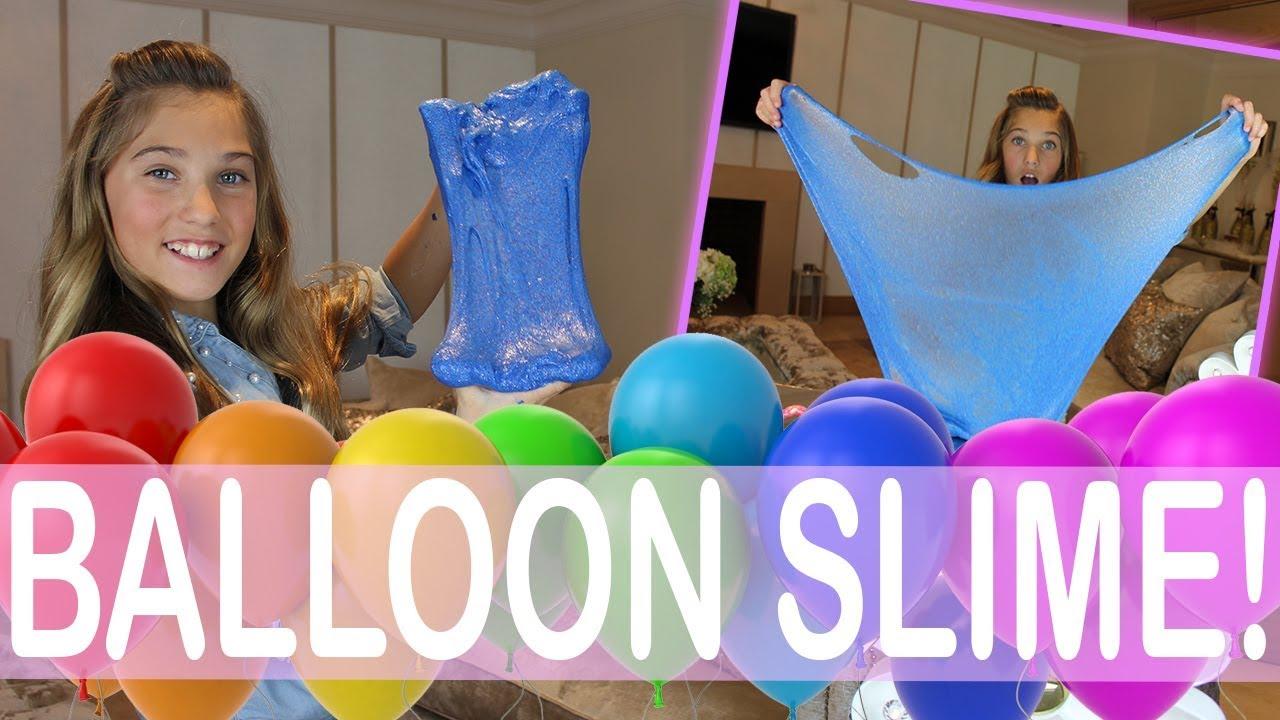 making slime with balloons rosie mcclelland youtube. Black Bedroom Furniture Sets. Home Design Ideas
