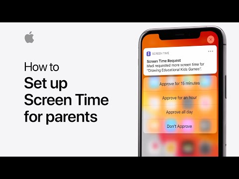 Get to know Screen Time for families on iPhone, iPad, and iPod touch — Apple Support