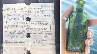 Woman Gets Message in a Bottle From Her Father 95 Years Later