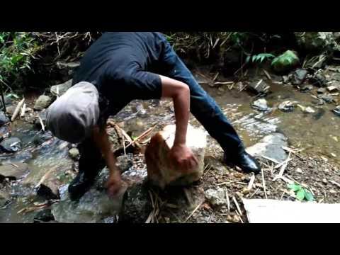 Suiseki Hunting : Berburu suiseki dan mineral chalcedony geode