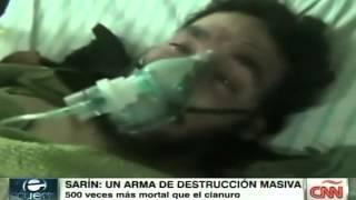 Siria podría estar usando un gas mortal