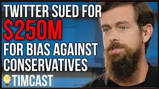 Twitter Hit With MASSIVE Lawsuit Over Anti Conservative Bias thumbnail