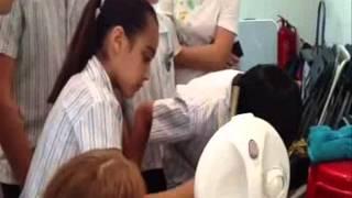 清水灣小學訪油尖旺食物銀行