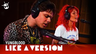Download lagu YUNGBLUD & Halsey cover Death Cab for Cutie 'I Will Follow You Into The Dark' for Like A Version