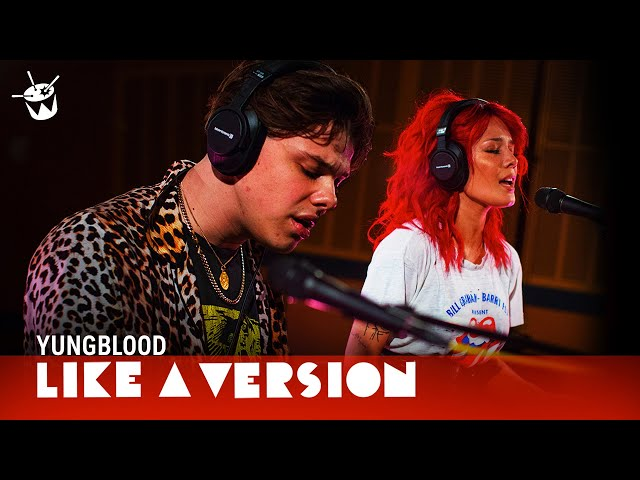 YUNGBLUD & Halsey cover Death Cab for Cutie I Will Follow You Into The Dark for Like A Version
