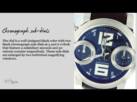 Graham Swordfish 3677 Chronograph Watch