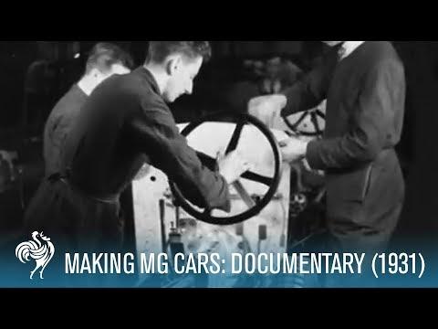 Making MG Cars At Abingdon: Silent Documentary (1931)