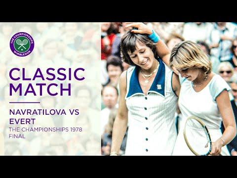 Chris Evert Vs Martina Navratilova Wimbledon 1978 F