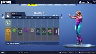 Fortnite - Flamenco Dance (Season 6 Battle Pass Tier 95 Reward) with Aerobic Assassin
