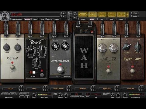 Виртуальные гитарные процессоры