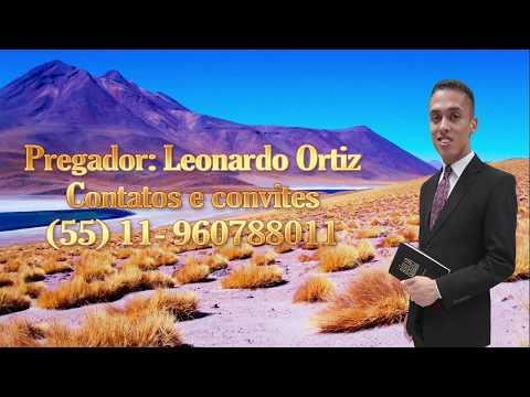 As Crises De Agar - Pregador: Leonardo Ortiz
