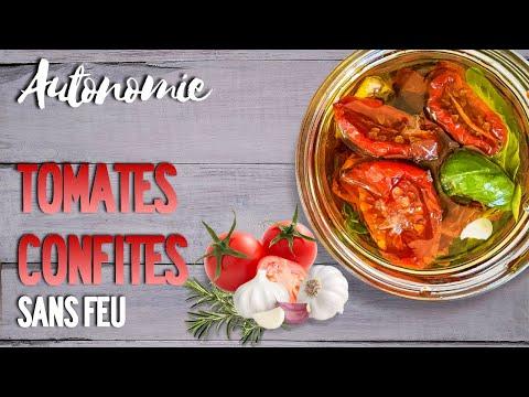 permaculture-autonomie-&-cuisine-À-l'ancienne-:-tomates-confites-du-jardin-potager-sans-feu